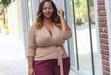 Plus size / A homage to all plus size women of the world. Remember you do not have to be slim to be attractive.