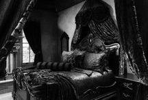 Goth, Horror & Dark Decor . / • Inspiration of Goth, Dark & Horror Decoration.