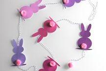 Pâques / Ici sont regroupés toutes les pines qu'on aime liés à la jolie fête de Pâques.