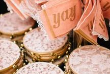 DIVINE DETAILS / Small and unusual ways to personalize your wedding and add charachter