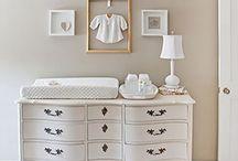 Nursery organization ideas and cloth diaper