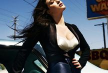 Kat Dennings / Her beauty and work
