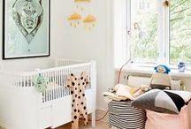 Chambres - bébé / Car la chambre évolue avec l'enfant, voici quelques idées pour aménager la première chambre de bébé.