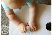 Activités bébé / Chouettes idées pour amuser les petits bout de chou!