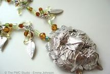 PMC Jewellery / Look what you can make using Precious Metal Clay!