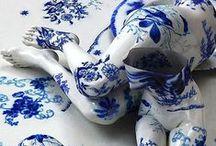 Delft blue / Inspired by Delft Blue ceramics