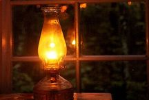Lamps, candles and lanterns / Lights creating moods and feelings