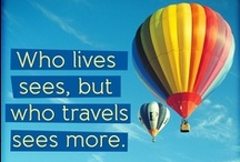 Inspirational Travel Quotes / The world is a book and those who do not travel read only one page [St. Augustine]