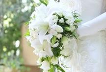 wedding bouquet / 好みのウェディングブーケ。ユリが好きみたい