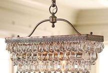 Decor: Chandeliers / Pendants / Lamps / Lights / by Heather Glaeser