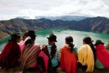 Ecuador / Destinazione andina per eccellenza che affascinerà per i suoi ecosistemi naturali unici e selvaggi, le architetture coloniali tra le meglio conservate del Sud America e le colorate tradizioni delle sue culture indigene.