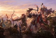 """Fantasy Art - Batailles, combat """"battle, fight"""" / by Laurent Aubouy"""