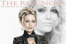 Session 'The Real Nova' / Mit überzeugenden Argumenten erschien Ana Nova zum Shooting im Atelier.