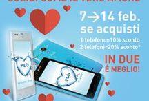 TRiO Valentine Pair / A San Valentino regalatevi la coppia di smartphone più 'forte' del momento. Dal 7 al 14 febbraio 2015, TRiO Naos e Trio One Star in vendita a soli € 199,90* e avrai anche 2 connettori USB placcati in oro in omaggio. www.triohq.com