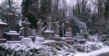 Shadows & Dreams - Highgate Cemetery / Phone snaps from Highgate in winter - sorry for the slightly ropey quality. I had a crap phone at the time.