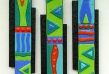 Fused Glass and Inspirations / Fused glass art and ideas; anything that looks cool and might inspire fused glass ideas. / by Jill Sugarman