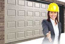 Garage Door Service / We provide garage door service, garage door installation, and overhead door repair in Calgary for your houses with 100% GUARANTEE.