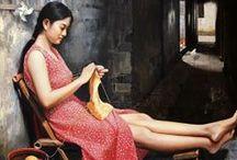 knitting women