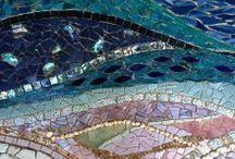 vitráž a mozaika