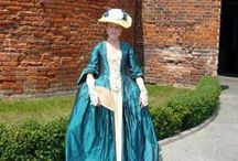 Moje stroje XVIII i XIX wiek/ My outfit 18th and 19 century
