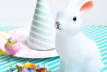 Easter / Easter, Spring, pastels, bunny, rabbit, children's party, fancy dress, party supplies, party food, party ideas, decorations, balloons, baking, cake decorations, diy