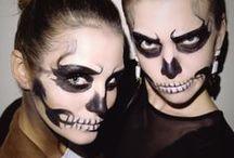 Halloween Makeup, Hair and Nails