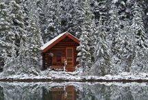 Gezellig winter! / Lange wandelingen buiten, in volle bewondering staan voor die prachtige herfstkleuren en een winters wit tapijt, om daarna binnen volop te genieten van de warmte en huiselijke gezelligheid. Zalig!!