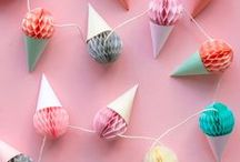 Fun with Honeycomb Paper & Party Decorations
