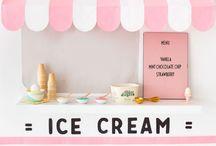 Ice Cream / Ice cream, summer, sweets, ice cream cone, treats