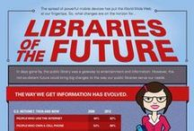 Cool Infographics / Cool infographics about books, reading, education and libraries.