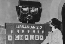 Vintage Librariana / Vintage photos of libraries, librarians and library-themed art.