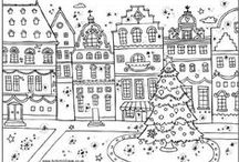Adult Coloring Pages / Relax and color. Coloring is not just for kids anymore.