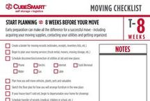 Moving Timeline Checklists