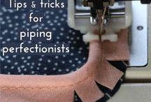Sewing tips - Ompeluvinkit - Nähtipps - Sömnadstips / Wonderful tips and tricks for sewing. Ompeluvinkkejä ja ideoita ompelijoille :)