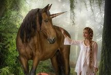 unicorns and other mythical creatures