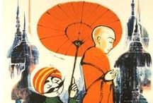Asian Vintage Travel Posters
