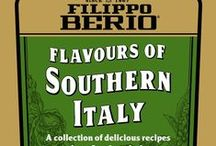 Flavours of Southern Italy / Recipes from our new recipe booklet. Request a free copy from http://www.filippoberio.co.uk/recipes/recipe-booklets