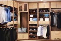 Closet  / Closet organization designs and ideas