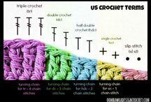 CROCHET Trucs et Astuces / des trucs pour mieux crocheter / by BIBI LA BRICOLE