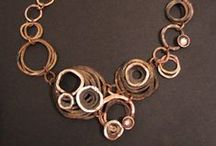 Jewelry & Metals Inspiration / Tips for your classes and inspiring finished products.