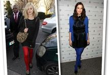 Celebrities in Legwear / by StockinGirl: Stockings and Thigh Highs