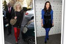 Celebrities in Legwear