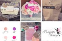 Farbvariationen für Hochzeiten