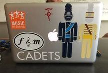 Behind the Screens / Showcasing the laptop decal diversity of Franklin & Marshall College / by Franklin & Marshall College