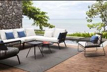 Outdoor furniture we sell! / Designer Pieces for Outdoor Use | All Available at http://morlensinoway.com/products/manufacturers/architonic