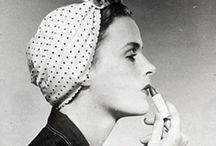 Vintage 40's woman / For being that amazing 40's WWII woman / by Celeste Van Klaveren Boers
