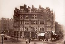 "Old London around Shaftesbury Avenue / The Location around Angels Shop from the 1800""s / by Tim Angel"