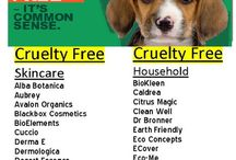 Buy Cruelty Free Products / by Vicki Nelson