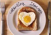 Breakfast, Lunch & Dinner ideas <3