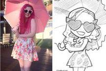 Photo vs Drawing